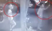 Nhóm côn đồ cầm dao phóng lợn chém hai người nhập viện