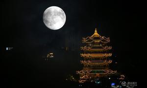 Trăng tròn tết Trung Thu ở Trung Quốc