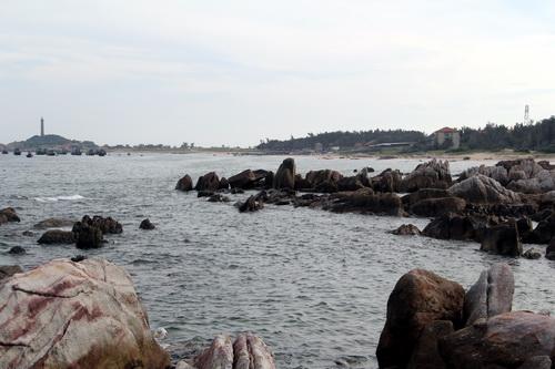 Địa điểm dự kiến xây dựng cảng Kê Gà. Ảnh: Phước Tuấn
