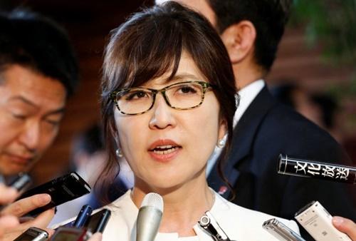 Bộ trưởng Quốc phòng Nhật Bản Tomomi Inada. Ảnh: Reuters.