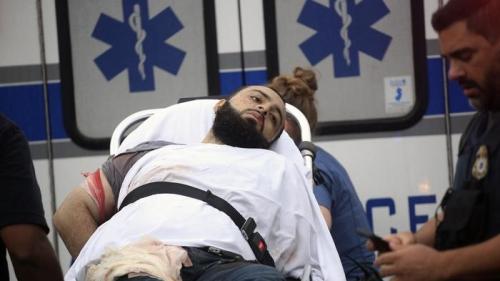 Ahmad Khan Rahami bị bắt sau cuộc đấu súng với cảnh sát. Ảnh: