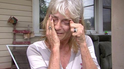 BàDebra Hyde hối hận vì đã dùng heroin quá liều, gây nguy hiểm cho cháu trai. Ảnh:Scripps Media
