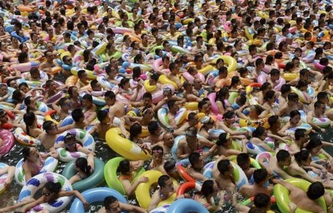 Biển người ở quốc gia gần 1,4 tỷ dân