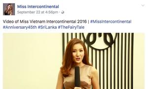 Video nói tiếng Anh của người đẹp Việt thi Hoa hậu Liên lục địa gây tranh cãi