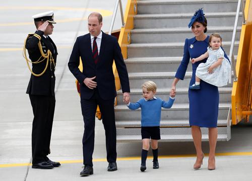 Gia đình hoàng tử William và công nương Catherine