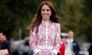 Công nương Anh mặc váy 5.000 đô thăm Canada