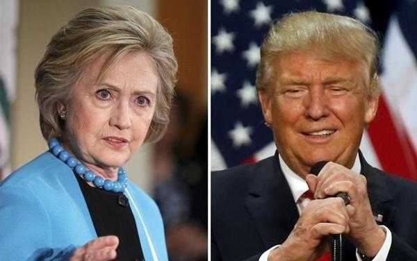 Hai ứng viên tổng thống Mỹ. Ảnh: Reuters.