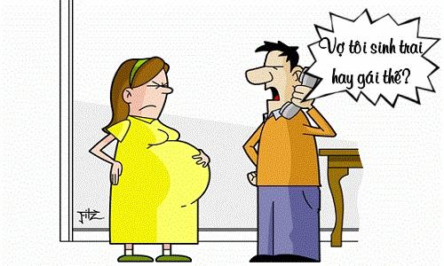 ông chồng mừng hụt vì tưởng vợ
