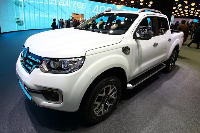 Alaskan - bán tải đầu tiên của Renault