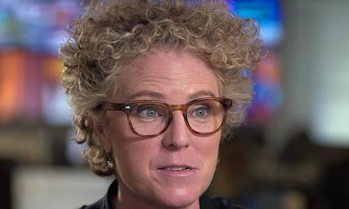 Susanne Craig, nữ phóng viên phanh phui hồ sơ hoàn thuế của Donald Trump. Ảnh: NBC News.