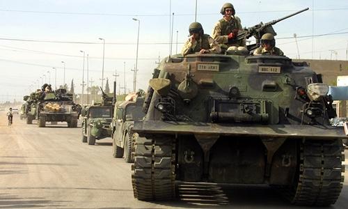 Lính Mỹ tại Iraq. Ảnh: Reuters.