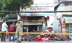 Cháy tiệm đồ cưới ở Sài Gòn, 3 người trong gia đình thiệt mạng