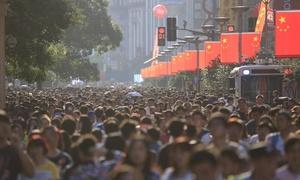 Người Trung Quốc chen chúc đi du lịch dịp Quốc khánh