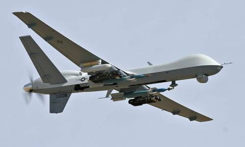 Máy bay không người lái Predator của Mỹ. Ảnh: AFP.