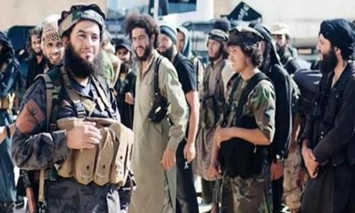 Phiến quân Nhà nước Hồi giáo. Ảnh: Iraqi News.