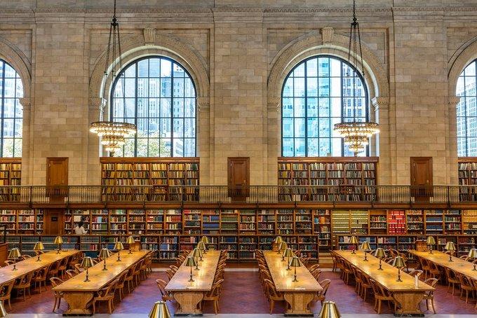 Những thư viện đẹp nhất nước Mỹ