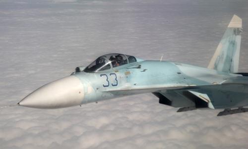 Chiến đấu cơ Su-27 của không quân Nga. Ảnh: Sputnik.