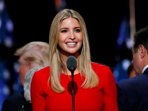 Ivanka Trump, con gái ruột của ứng viên tổng thống đảng Cộng hoà Donald Trump. Ảnh: Reuters