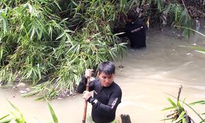 Hàng trăm cảnh sát tìm bé trai mất tích ở Bình Dương