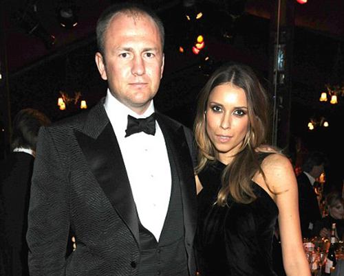 Tỷ phúAndrey Melnichenko và vợ. Ảnh: Rex