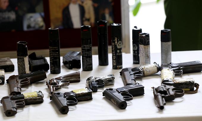 Hàng loạt 'sát thủ' bị cảnh sát 141 vô hiệu
