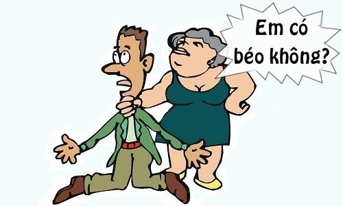 Chiều cao phù hợp cho bà vợ thừa cân