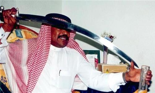 Một đao phủ Arab Saudi. Ảnh: Press TV.