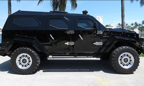 Kight XV là sản phẩm của hãng Conquest tại Canada, chiếc SUV ra đời lần đầu năm 2008.