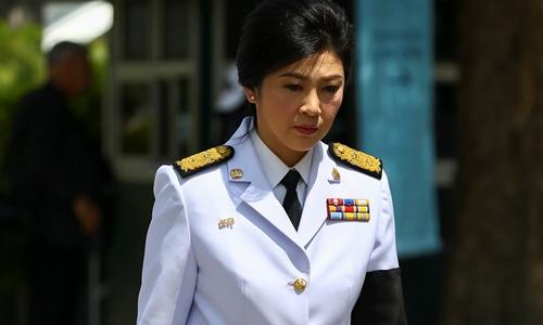 Cựu thủ tướng Thái Lan Thaksin Shinawatra. Ảnh: Reuters.\