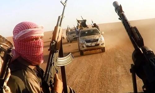 Phiến quân Nhà nước Hồi giáo. Ảnh: AFP.