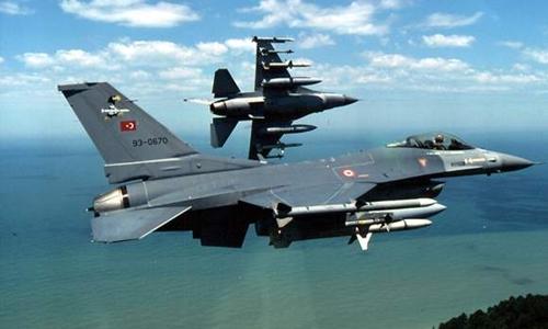 Chiến đấu cơ F-16 Thổ Nhĩ Kỳ. Ảnh: Defense Industry Daily.