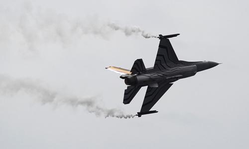 Chiến đấu cơ F-16 của không quân Bỉ. Ảnh: Reuters.