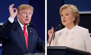 Cuộc chiến sinh tử của Clinton và Trump tại các bang chiến trường