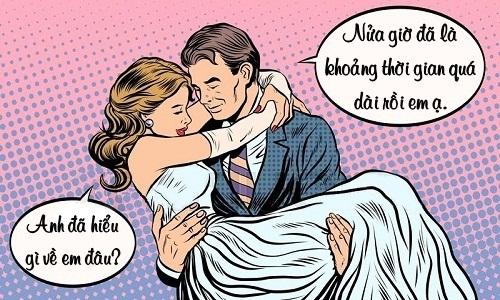 Nền tảng của một cuộc hôn nhân cấp tốc