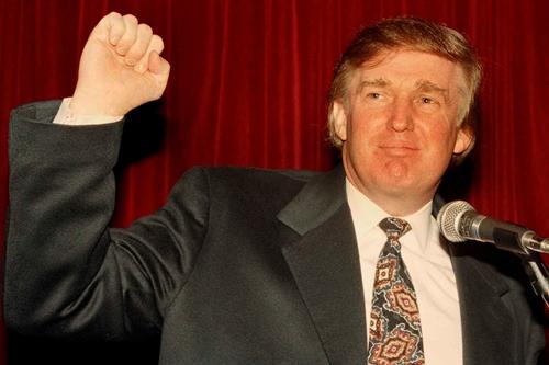 Donald Trump năm 1994. Ảnh: AP.