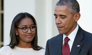 Obama bị con gái út chê trên ứng dụng SnapChat