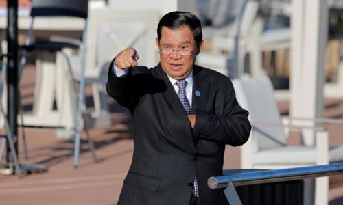 Thủ tướng Campuchia Hun Sen có thể được hưởng mức lương gấp ba lần hiện tại. Ảnh minh họa: Reuters.