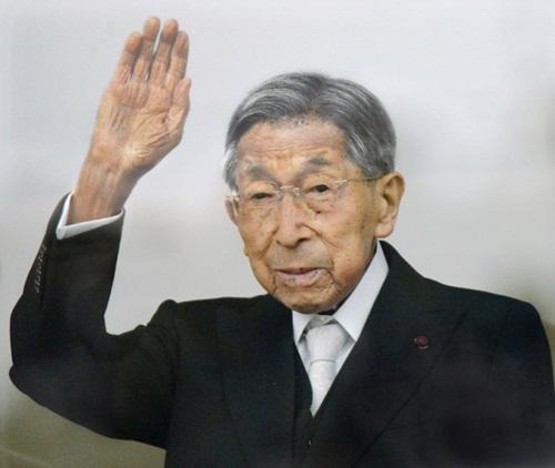 Hoàng tử Mikasa, thành viên cao tuổi nhất của Hoàng gia Nhật, trong bức ảnh chụp năm ngoái. Ảnh: Reuters