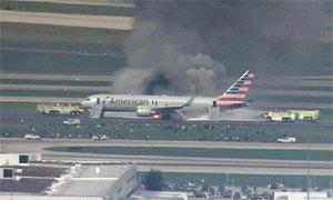 Hành khách kể về phút hoảng loạn trên phi cơ bốc cháy Mỹ