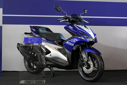 Yamaha NVX ra mắt tại Sepang, Malaysia.