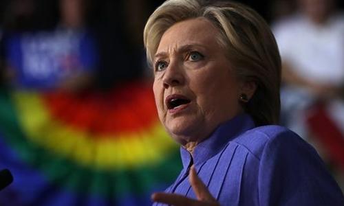 Bà Clinton vận động tranh cử tại Florida hôm 30/10. Ảnh: AP.