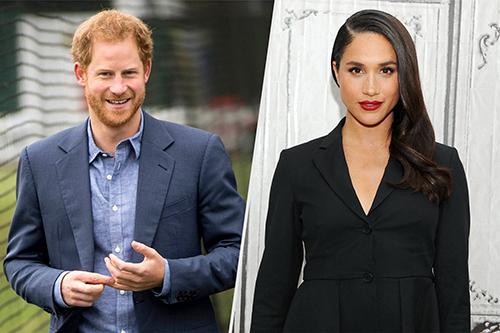 Hoàng tử Harry được cho là đang hẹn hò với Meghan Markle. Ảnh:AP; WIREIMAGE)
