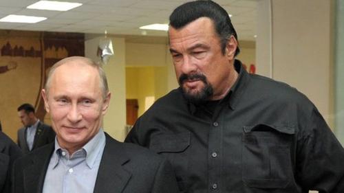 Ông Seagal là bạn bè với ông Putin