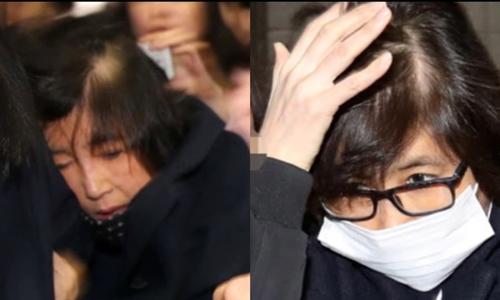 Cư dân mạng Hàn Quốc nghi ngờ bà Choi Soon-sil dùng người thế mạng. Ảnh: Korea Times.