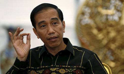 Tổng thống Indonesia Joko Widodo. Ảnh: Reuters.