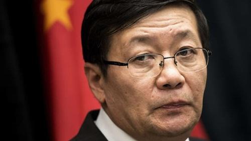 Ông Lâu Kế Vĩ, người mới thôi chức Bộ trưởng Tài chính Trung Quốc. Ảnh: AFP