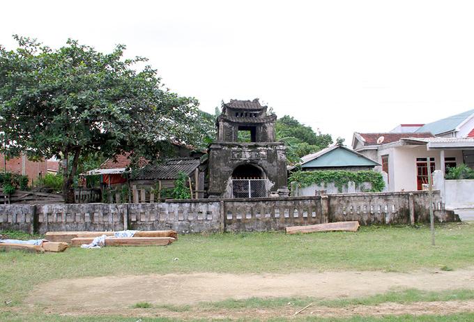Dấu tích văn miếu cổ tại Hà Tĩnh
