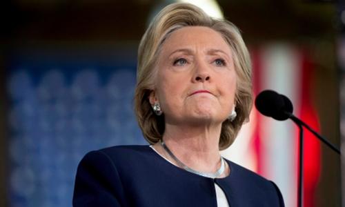 Ứng viên tổng thống của đảng Dân chủ Hillary Clinton. Ảnh: Reuters.