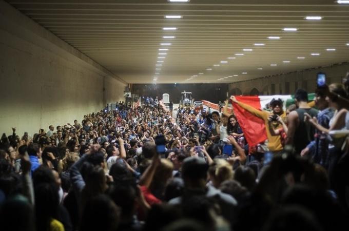 Hàng nghìn người biểu tình phản đối Trump đắc cử tổng thống
