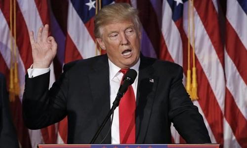 Trump nhiều lần tuyên bố sẽ chiến thắng các vụ kiện. Ảnh: Reuters.